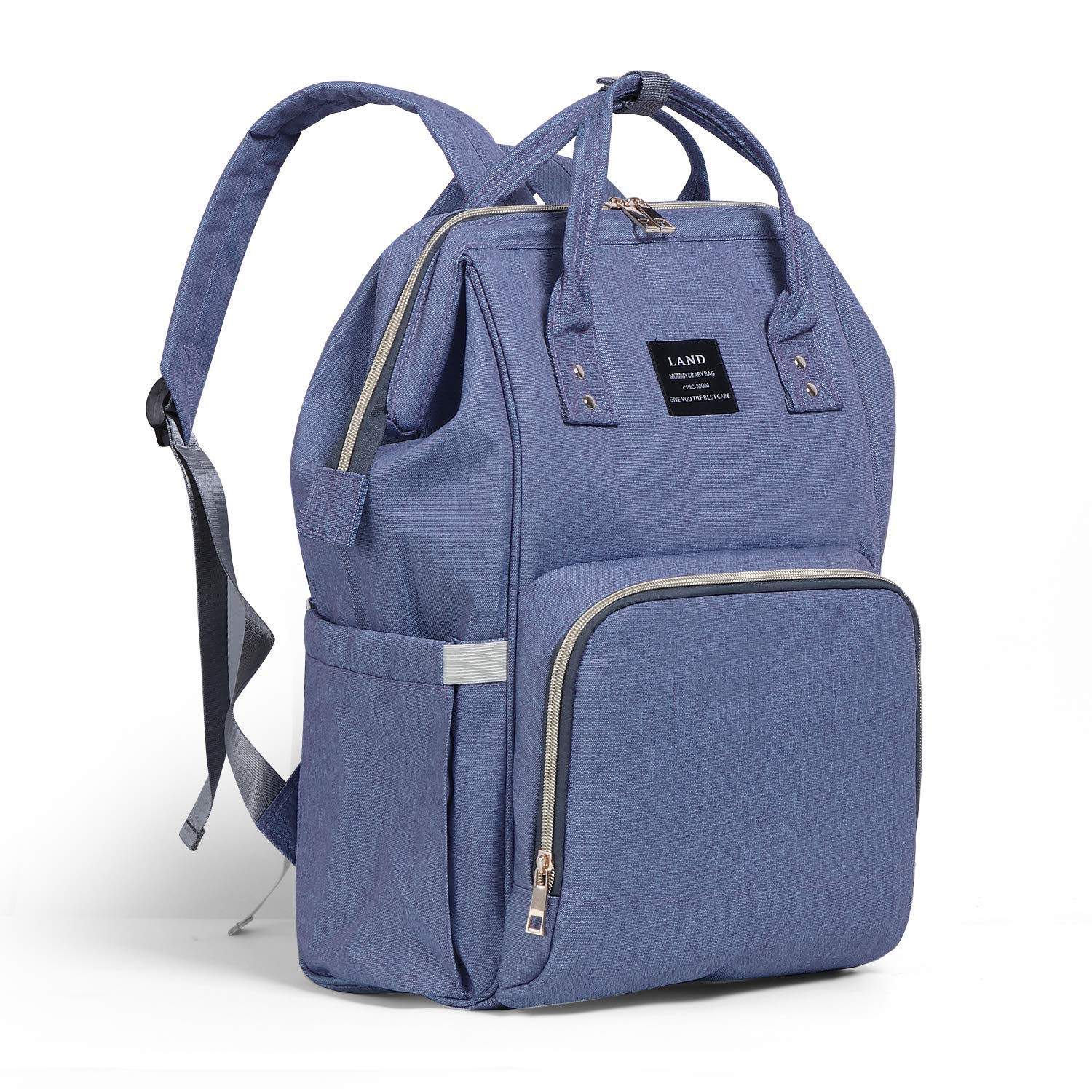 a6a657d48a14 Wide Open Design Baby Diaper Bag, Ticent Multi-Function Travel Backpack,  Nappy Tote Bag for Mom &...