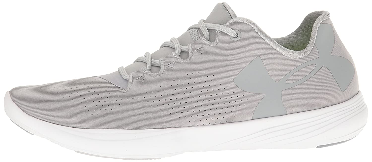 Under Armour Women's Street Precision Low Sneaker Gray B0182YKL72 9 M US|Overcast Gray Sneaker (942)/Glacier Gray 14352c