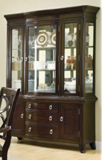 Coaster Home Furnishings 103534H Contemporary Hutch, Espresso