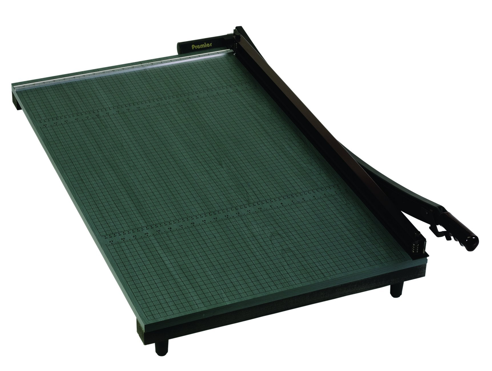 Premier Heavy-Duty Green Board Wood Trimmer, Cut Up to 20 Sheets at One Time, Steel Blades, 36 Inches, Green (PREWC36)