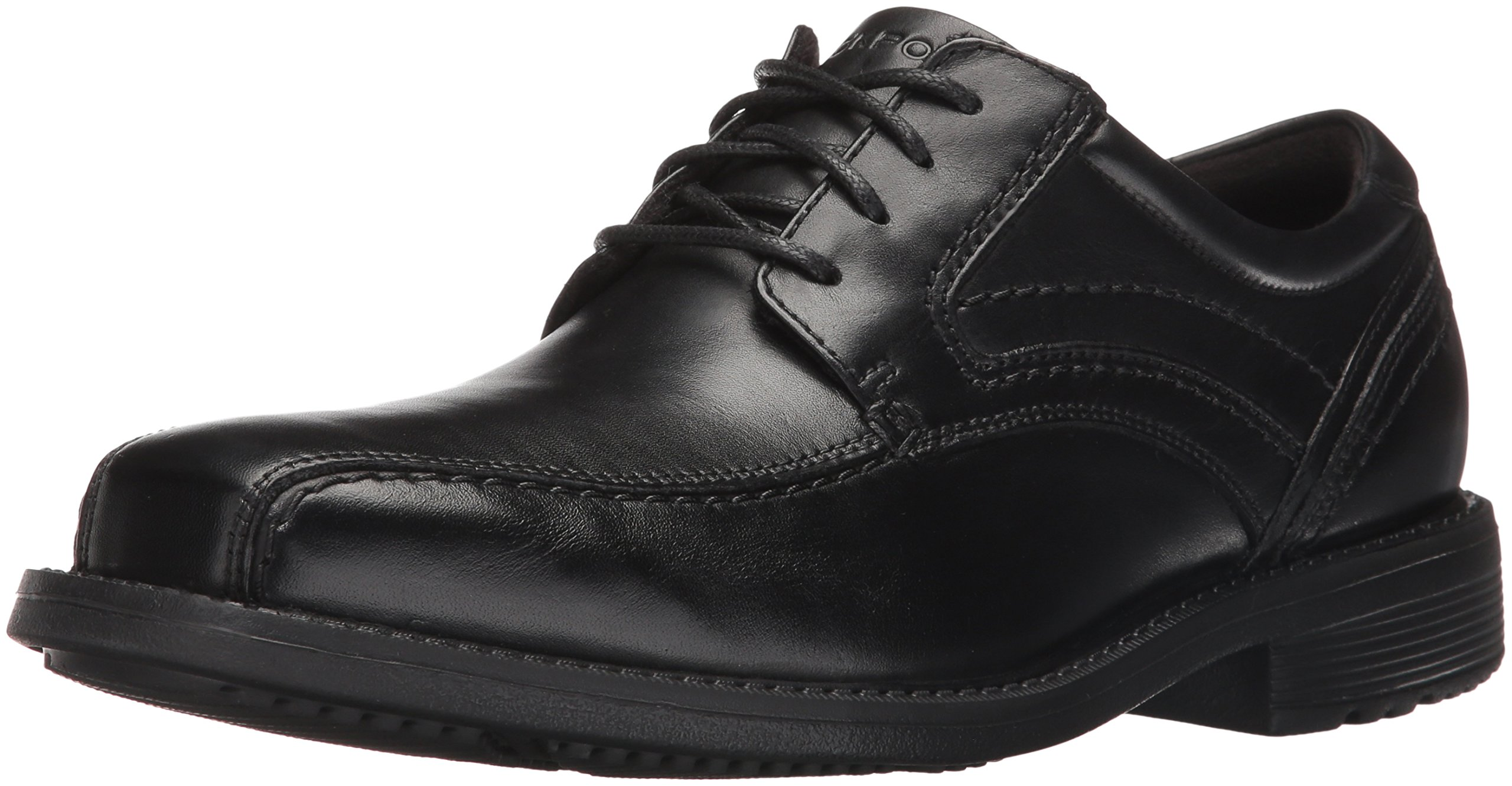 Rockport Men's Classic Tradition Bike Toe Oxford Black, 11 M US, 11 M US