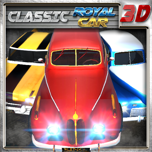 Classic royal car 3d