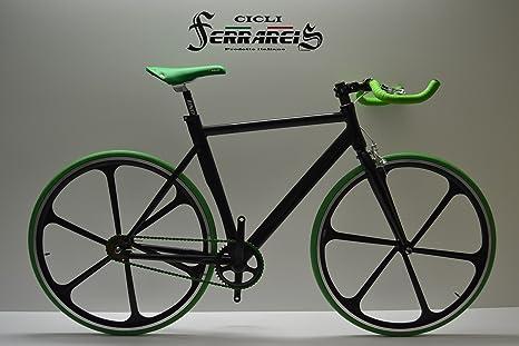 Cicli Ferrareis Fixed Bike Single Speed Bici Scatto Fisso A Razze
