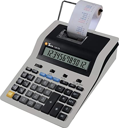 TWEN 130 PD Calculadora (Impresora: Amazon.es: Oficina y ...