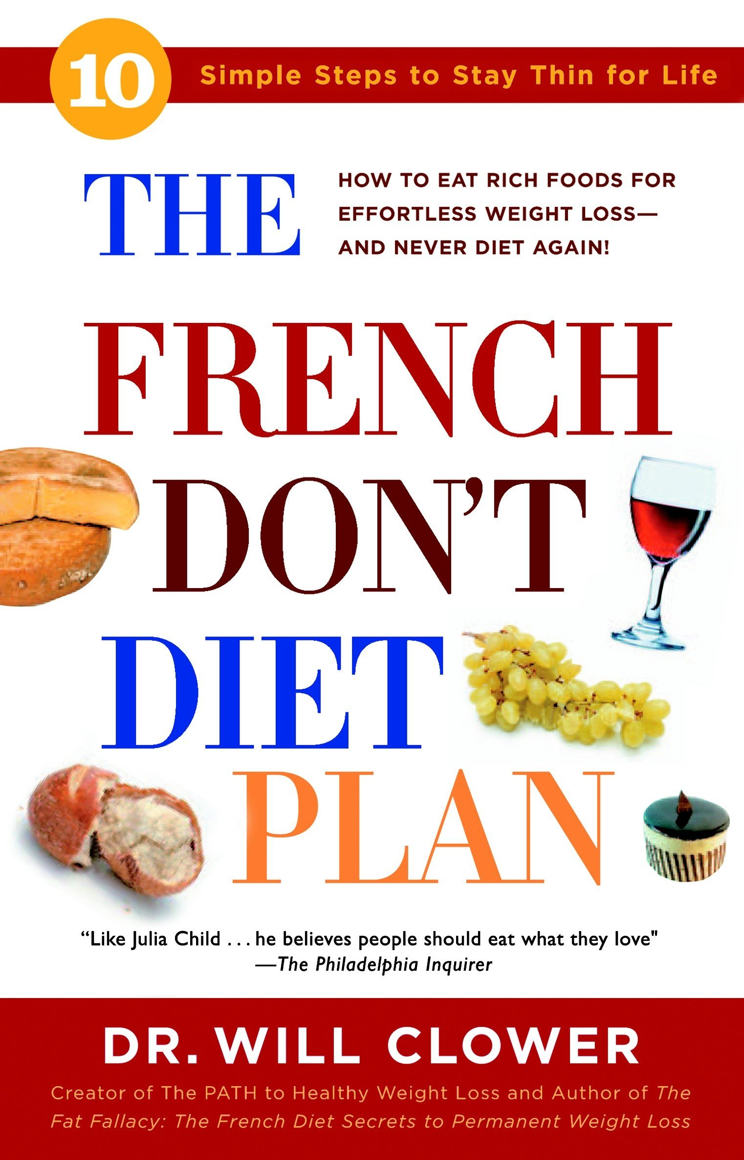 Download The French Don't Diet Plan: 10 Simple Steps to Stay Thin for Life pdf