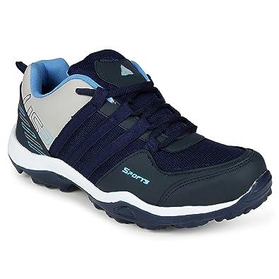 Aerofax and Jaisco Men s Sport Navy Blue Running Shoes  Amazon.in  Shoes    Handbags 85a666065aa