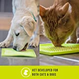 Hyper Pet Lickimat Slow Feeder Mat, Boredom Buster, Anxiety Relief (Perfect for Dog Food, Dog Treats, Cat Food, Cat Treats)[Fun Alternative to Slow Feed Dog Bowl & Snuffle Mat] Variety of Colors-Sizes