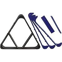 Gamesson - Triángulo para billar (2 en 1)