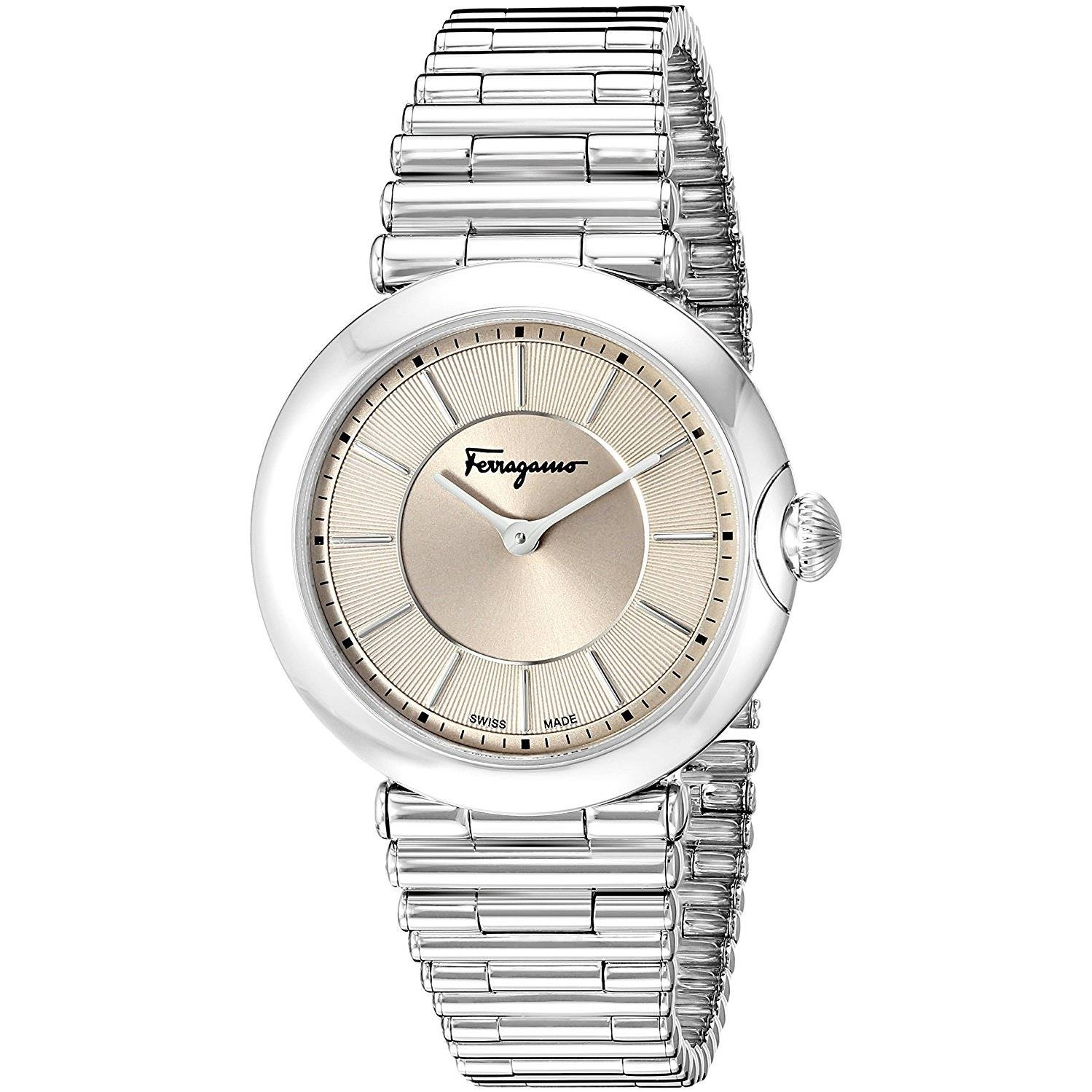 Salvatore Ferragamo Women's FIN040015 Style Analog Display Quartz Silver Watch by Salvatore Ferragamo