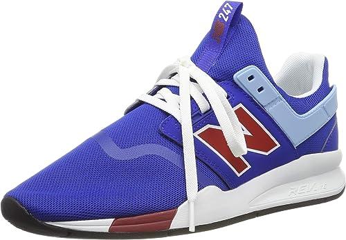 New Balance Herren 247v2 Deconstructed Sneaker, grau