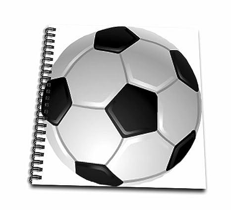 3drose Db 6254 1 Fussball Zeichnen Buch 8 Von 20 3 Cm