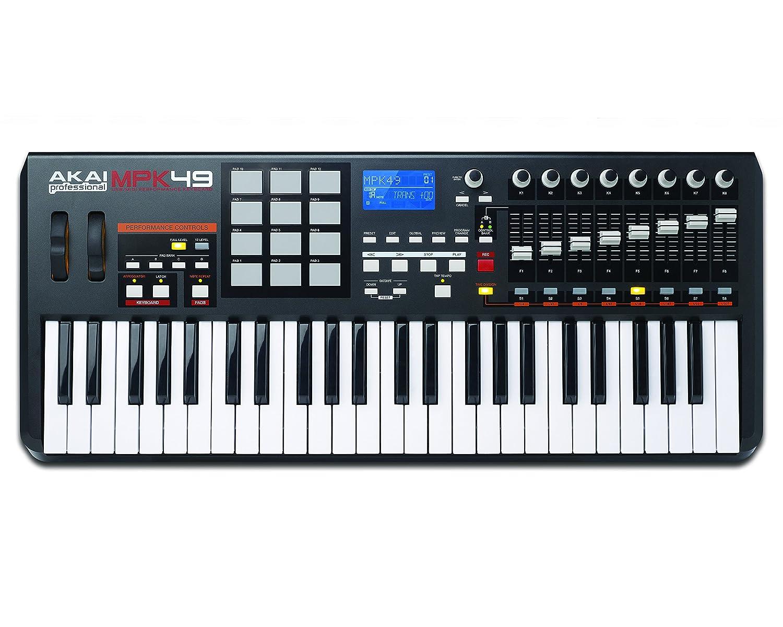 Akai MPK49 USB/MIDI controlador de teclado (49 teclas): Amazon.es: Instrumentos musicales