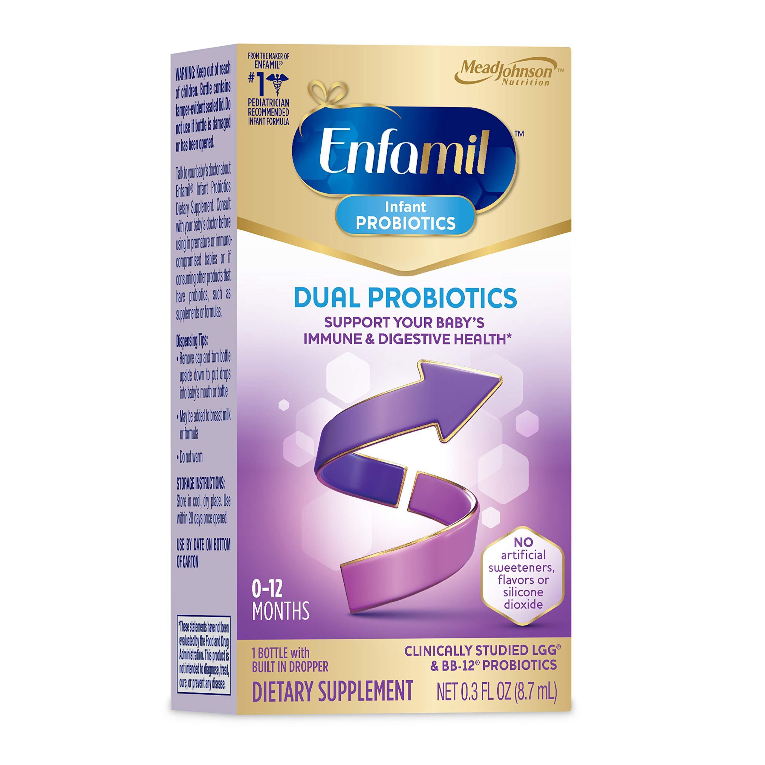 Enfamil Infant Probiotics Dual Probiotics, 8.7mL