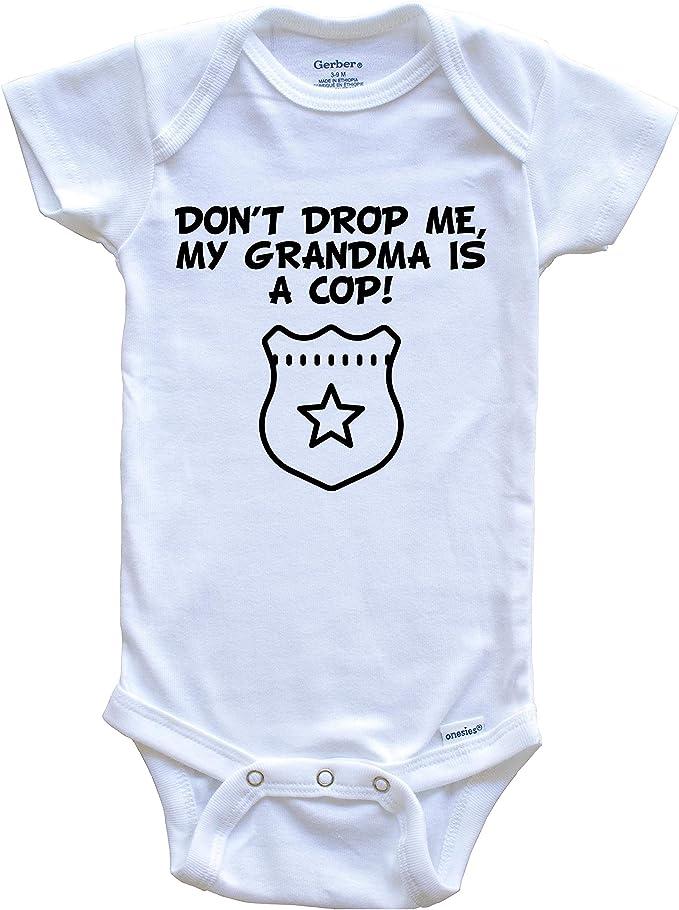 Grandchild One Piece Baby Bodysuit Don/'t Drop Me My Grandma Is A Lawyer Funny Baby Onesie