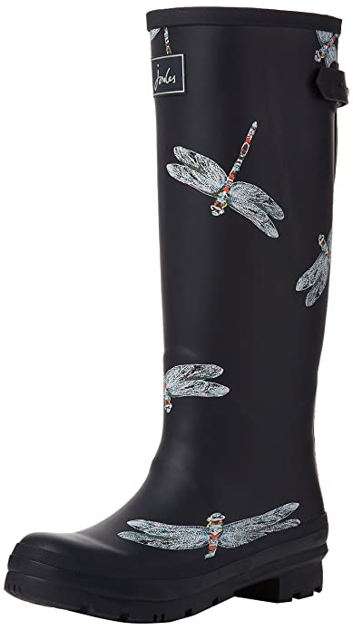 Tom Joule Mollywelly - Botas de Caucho para Mujer, Color Gris, Talla 40/41