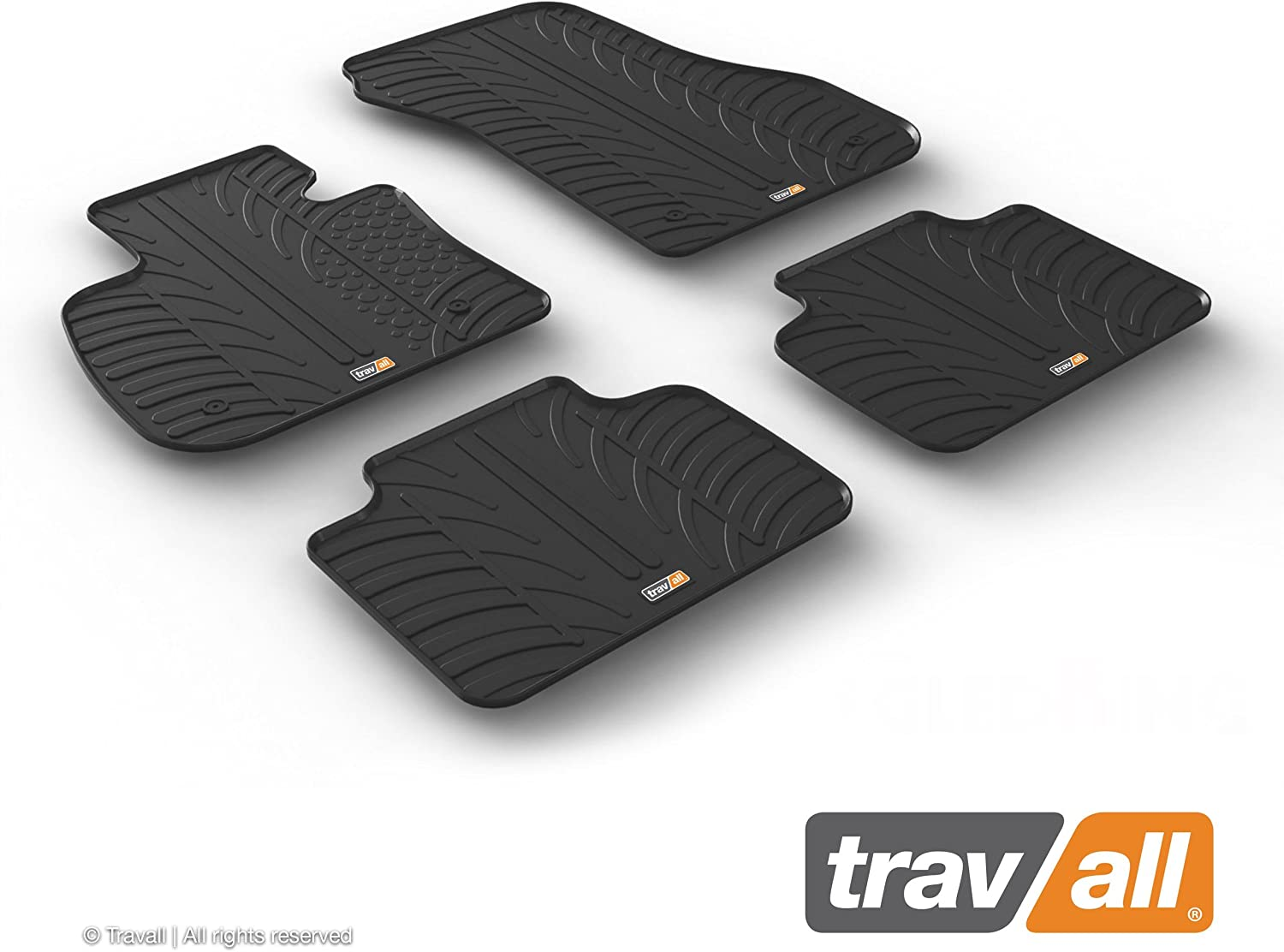 Travall Mats Rubber Floor Mats Accessory Trm1278 To Measure All Weather Floor Mats Auto