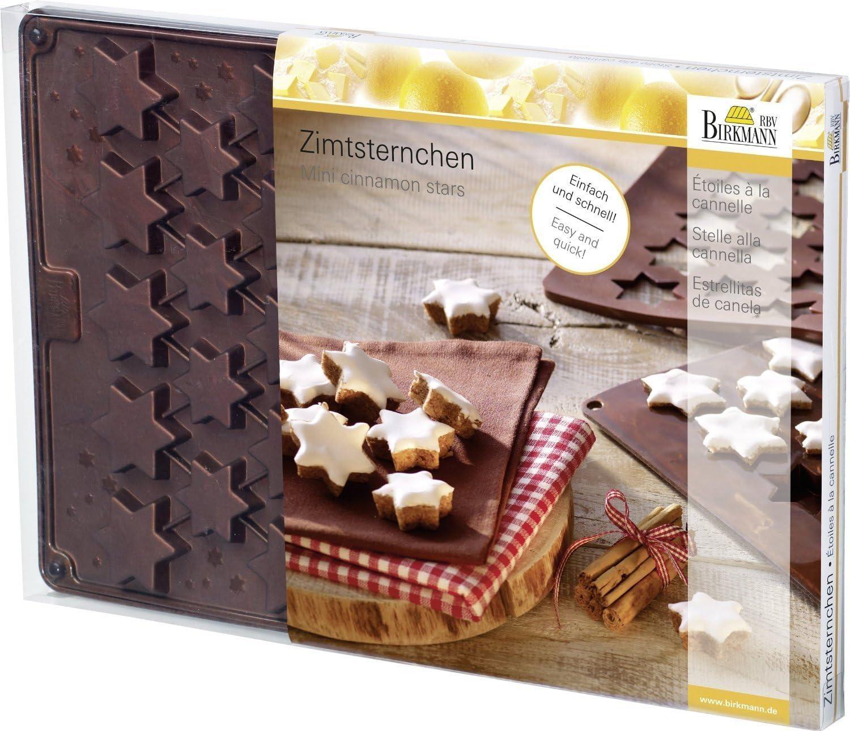 Kaiser Zimtstern Backform Set, 2 teilig, Silikon | Rakuten