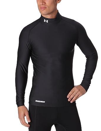 fc97af8ed0 Under Armour CG EVO Mock - Camiseta Deportiva de compresión para Hombre  Schwarz/Schwarz (