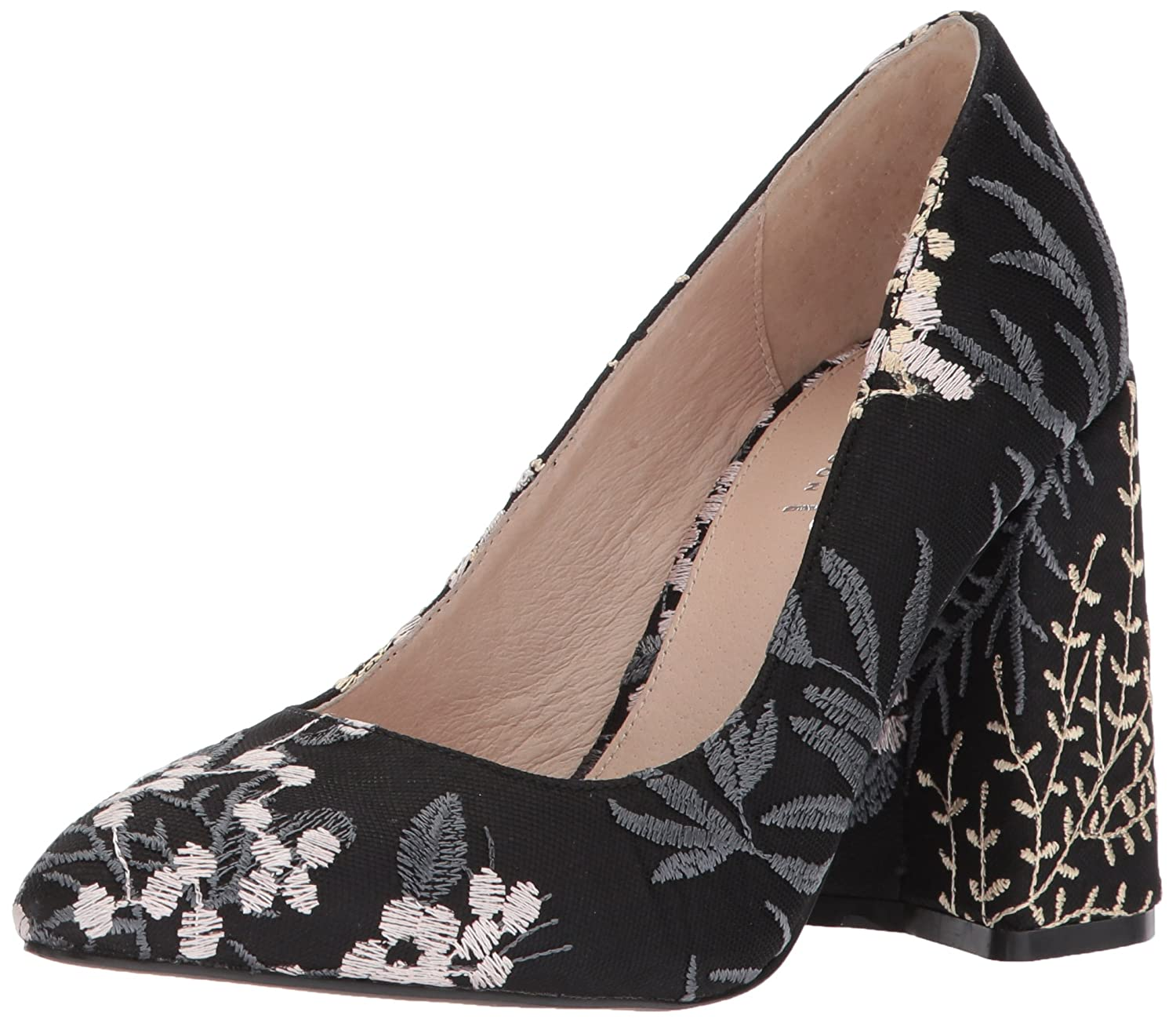 Shellys London Women's Hester Pump B073X7YJ5W 41 M EU (10 US)|Black Floral