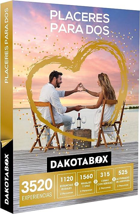 DAKOTABOX - Caja Regalo - PLACERES para Dos - 3520 Experiencias ...