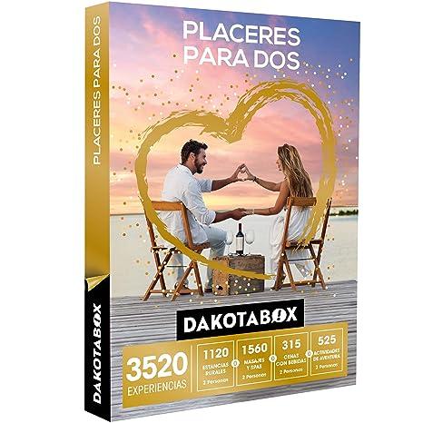 DAKOTABOX - Caja Regalo - PLACERES PARA DOS - 3520 Experiencias mágicas para compartir