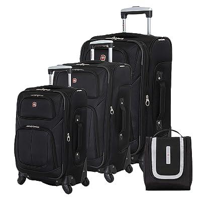 SWISSGEAR 6283 Amazon Exclusive Premium 3pc Spinner Luggage Set