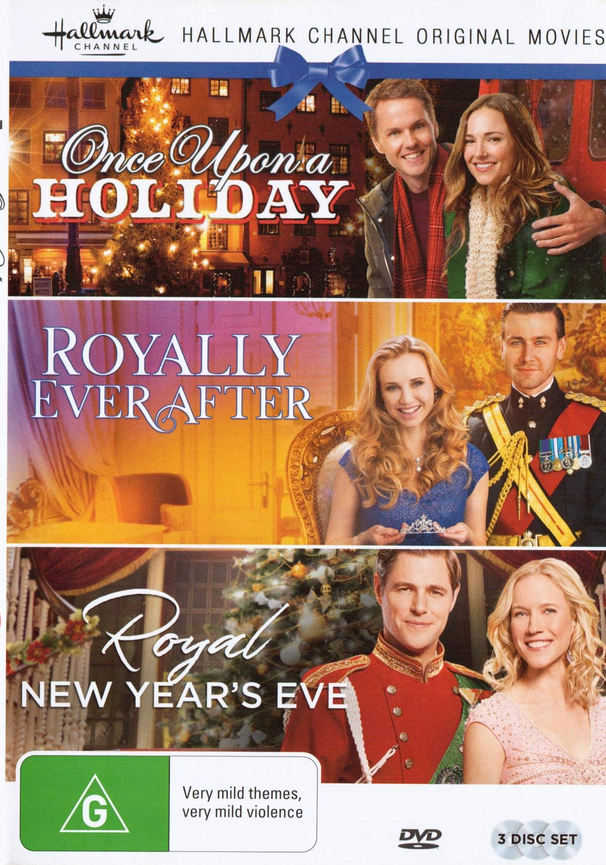 Hallmark Royal 3 Film Collection (Once Upon a Holiday/Royally Ever After/Royal New Years Eve) by Madman Entertainment