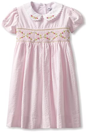 fb0394c9551 Amazon.com  Hartstrings Little Girls  Toddler Cotton Seersucker ...