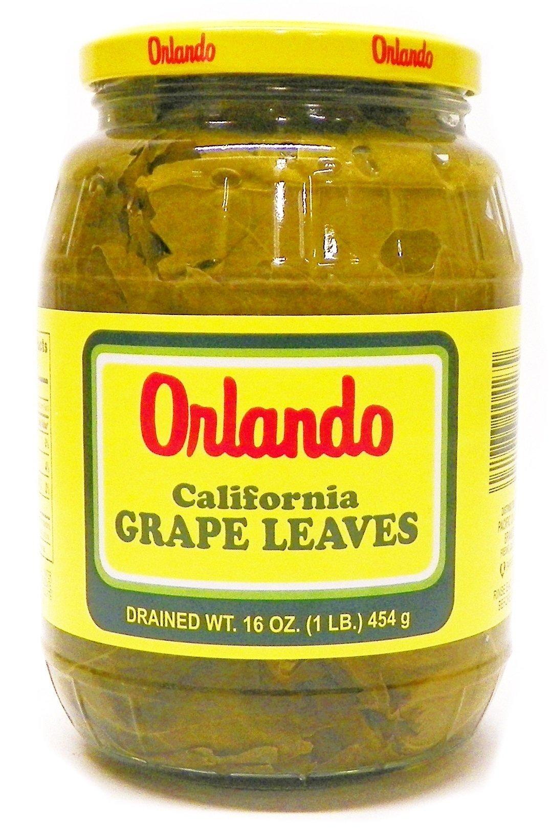 Grape Leaves California 454g 1lb (Orlando)
