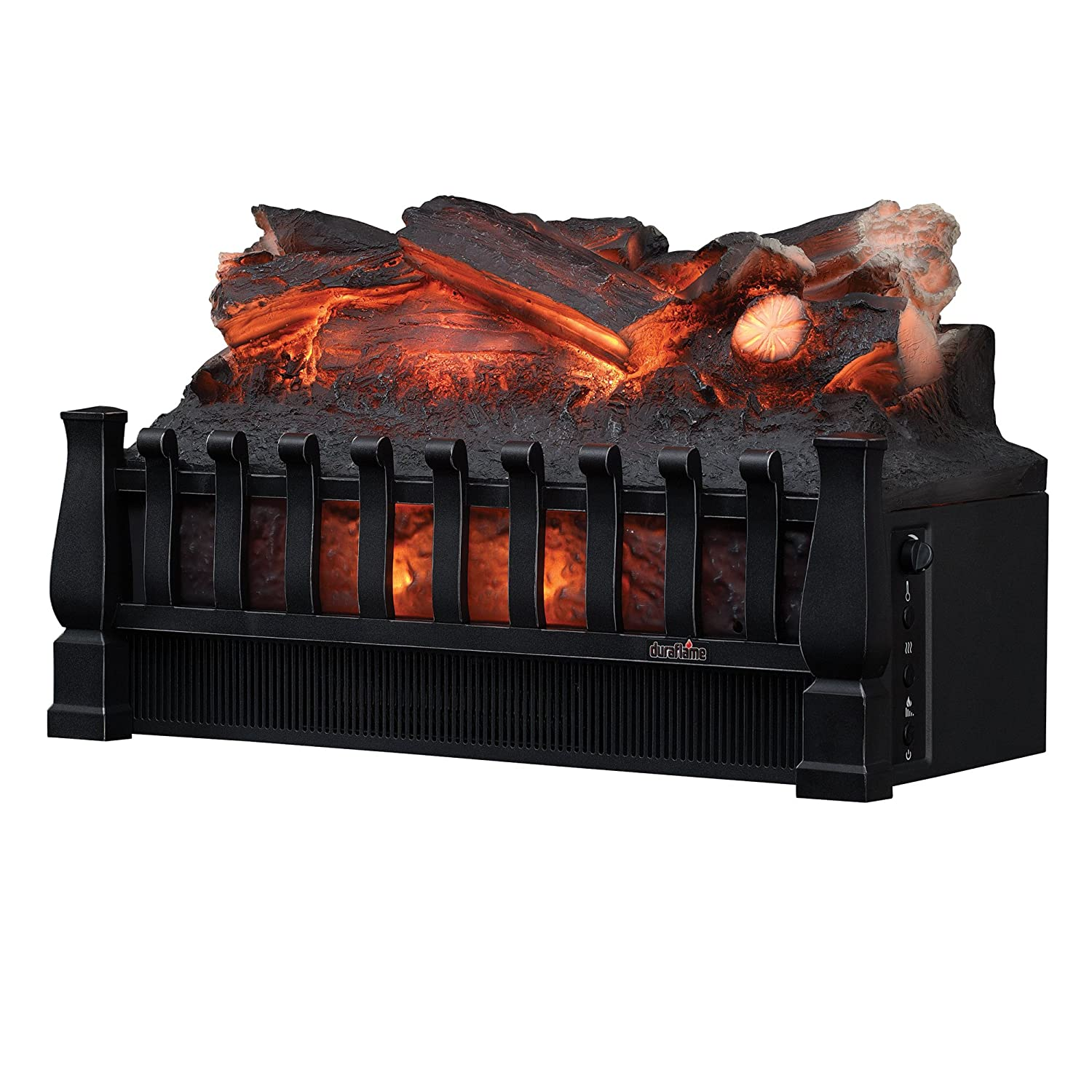 Tremendous Duraflame Dfi021Aru Electric Log Set Heater With Realistic Ember Bed Black Best Image Libraries Sapebelowcountryjoecom