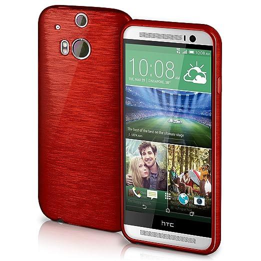 5 opinioni per Cover di protezione HTC One M8 / M8s Custodia Case silicone sottile 1,5mm TPU  