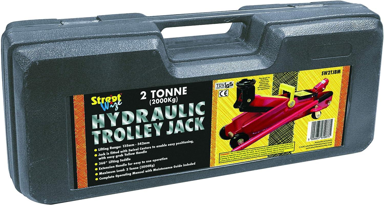con caja moldeada por soplado Streetwize SW2TJBM Gato hidr/áulico soporta 2 toneladas