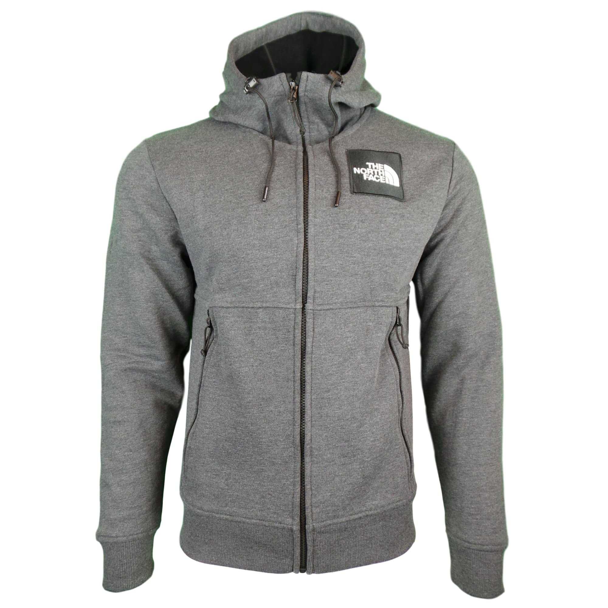 The North Face M Fine Full Zip Hood XL Tnf Grey