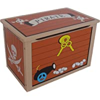 Kiddi Style Caja Juguetes Baúl Tesoro Pirata