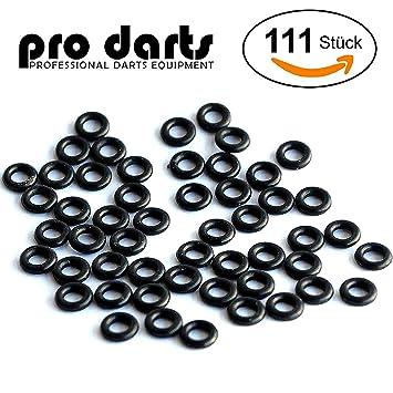 111 profesional marcas Dart anillos de goma para dardos, incluye instrucciones Original Pro Dardos: Amazon.es: Deportes y aire libre