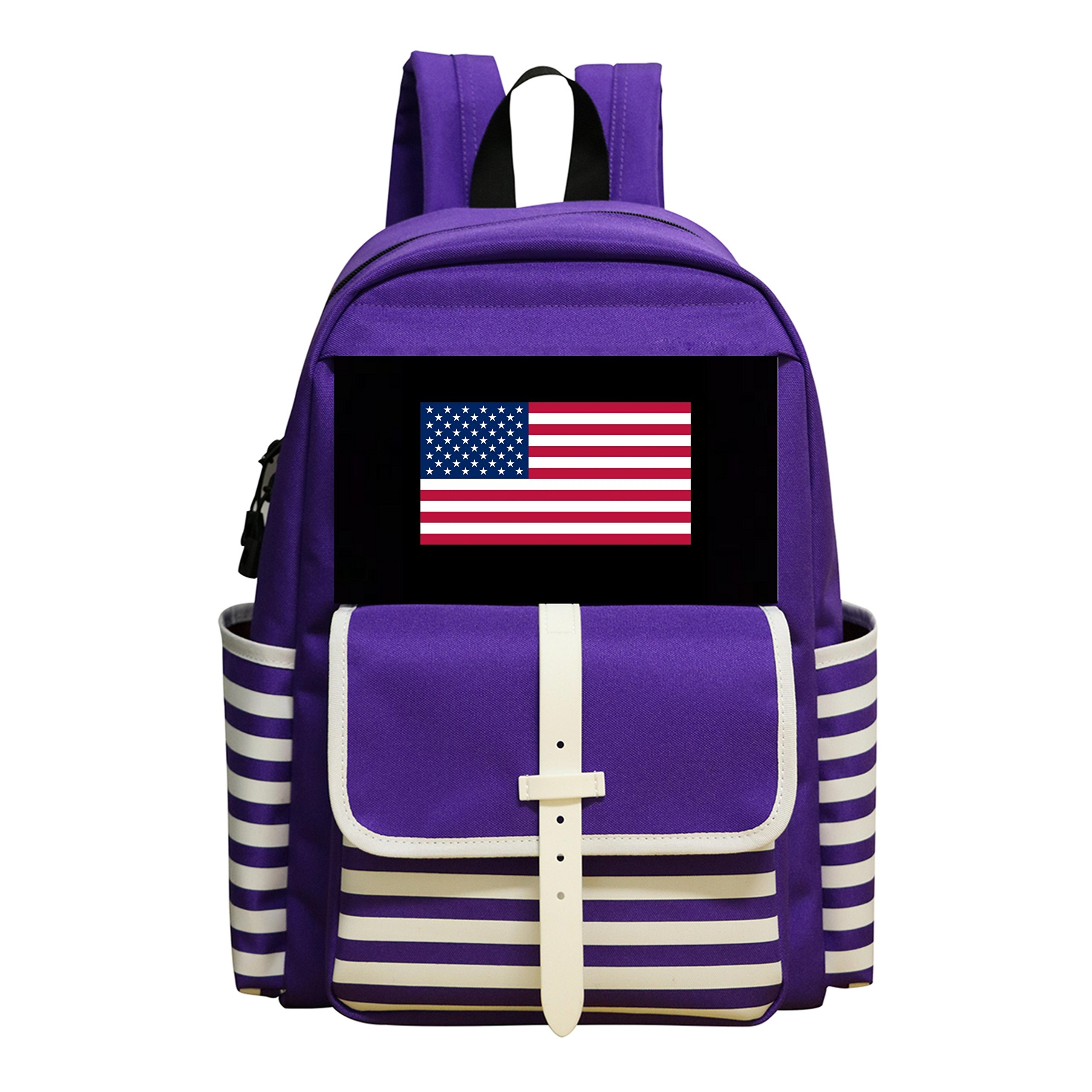 Boys & Girls School Backpack USA Wrestling Children Student Shoulder Bag by adengdda9