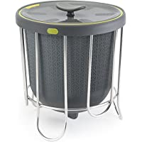 Polder Products Kitchen Composter, Silicone, Grey, 25 x 22 x 22 cm