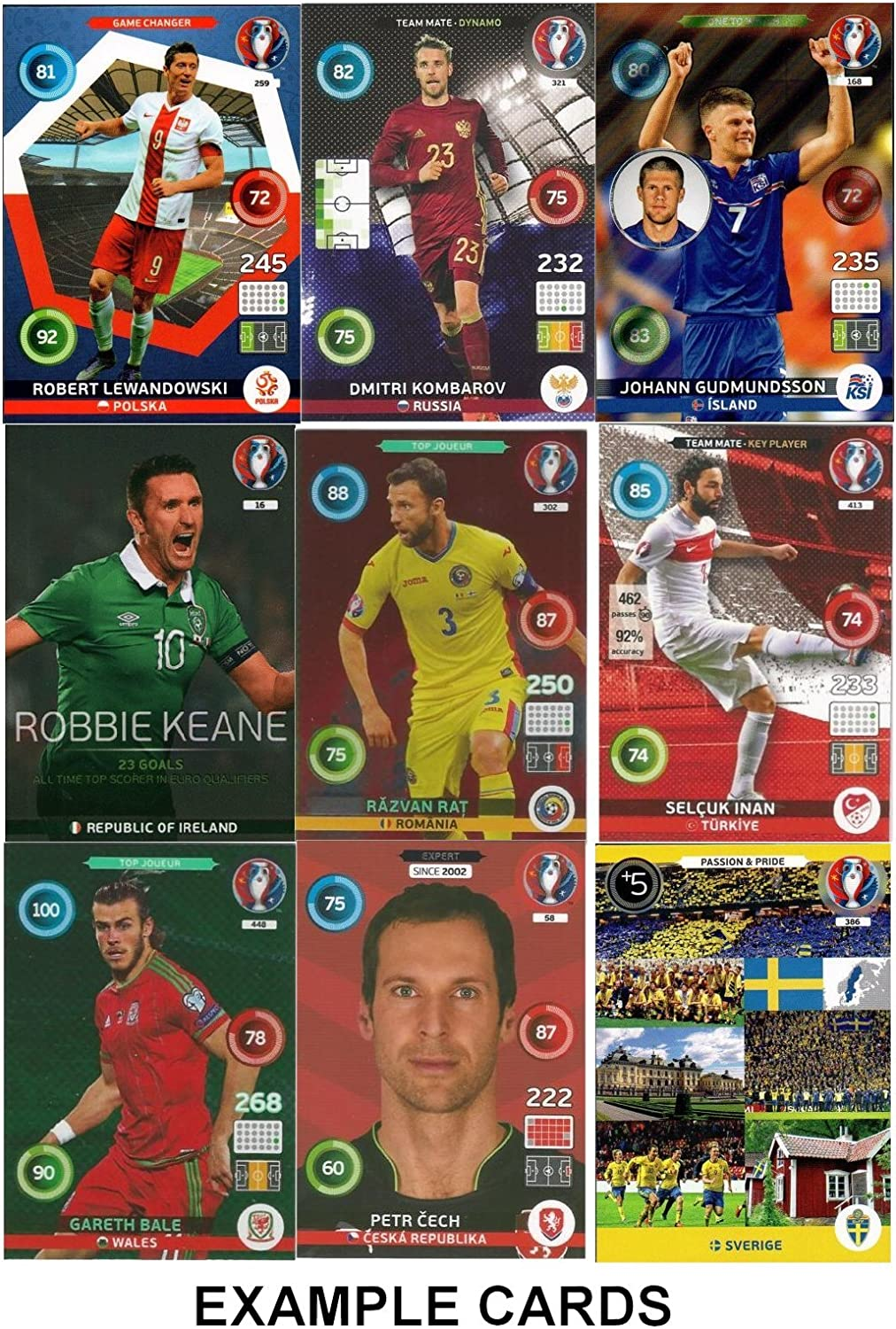 Card Limited Edition Adrenalyn Panini YARMOLENKO -UKRAINE EURO FRANCE 2016