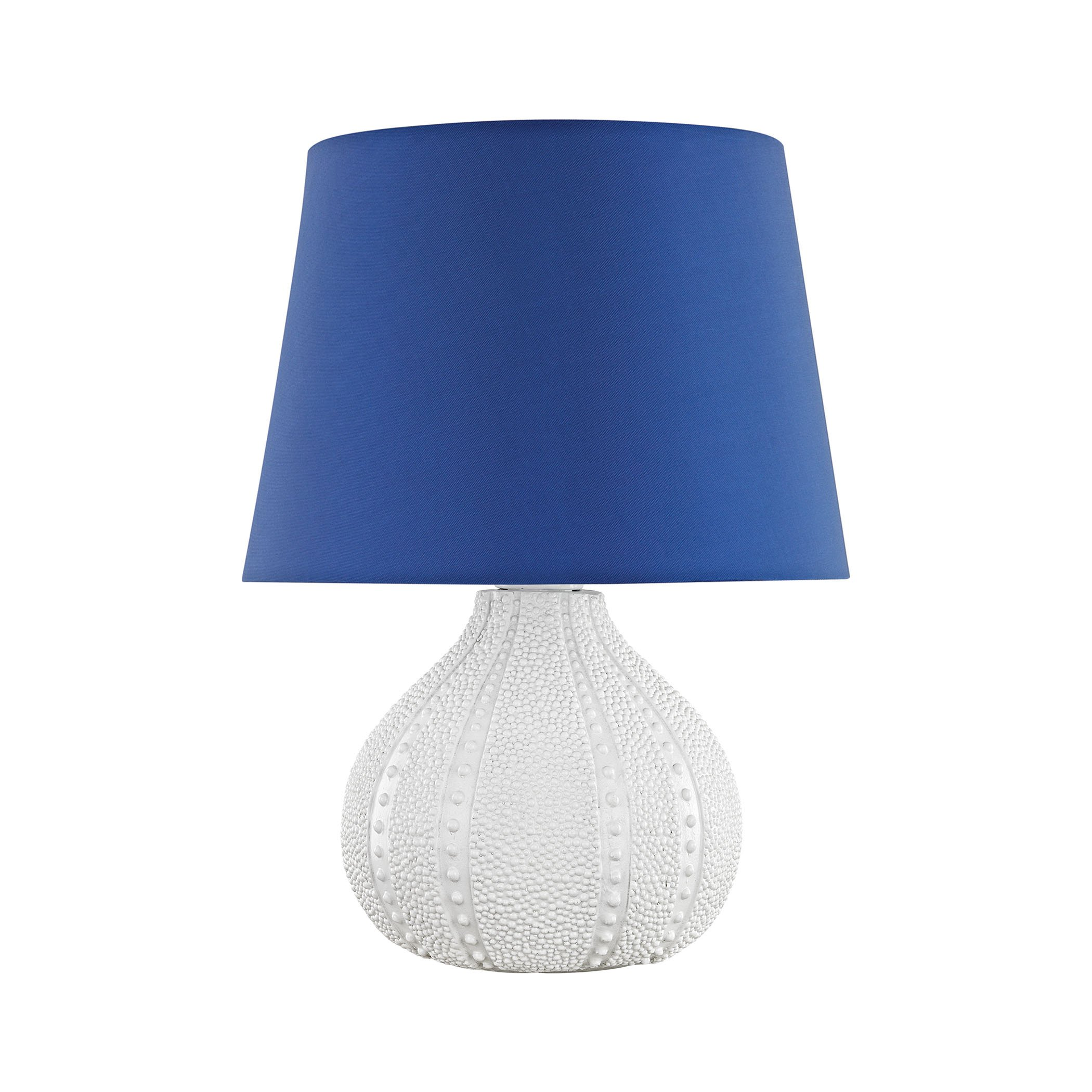 Aruba Outdoor Table Lamp With Royal Blue Shade by AR Lighting