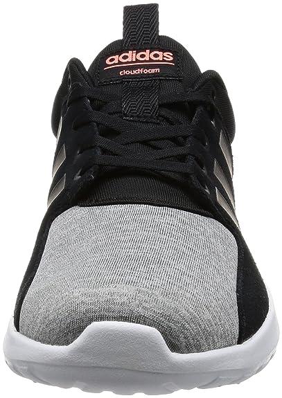 adidas Damen Lite Racer W Turnschuhe Sneaker Schwarz, Größenauswahl:38