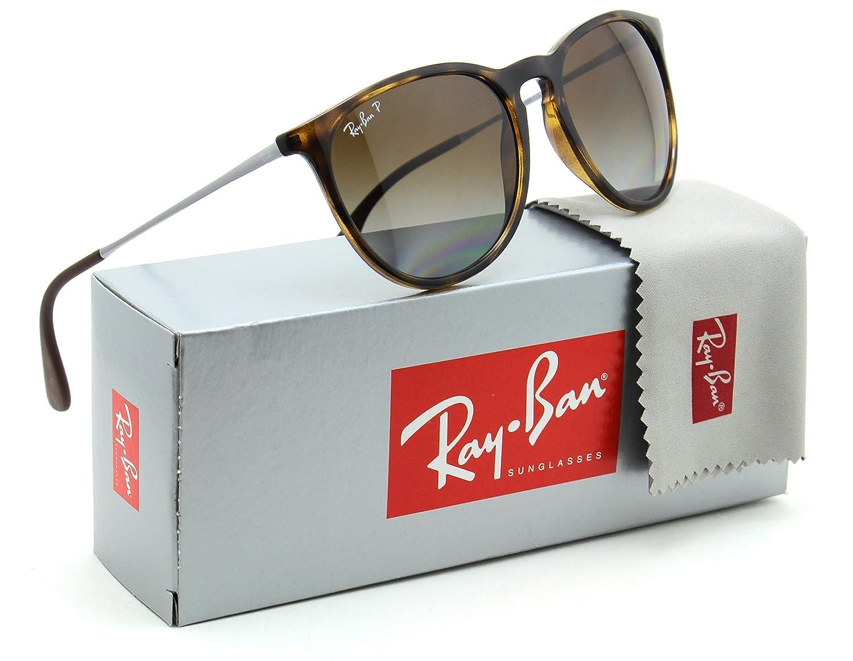 Amazon.com: Ray-Ban RB4171 Erika Sol Polarizadas la Habana W ...