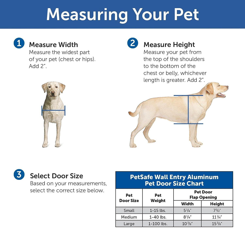 wall show doors dog model instructions door to in install hale installation a how pet