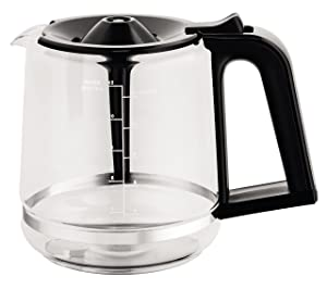 KRUPS XB1220 Replacement Carafe Compatible with EC3110 EC3130 EC3140, Capacity : 12 Glass Cups