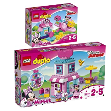 Lego Duplo 2pcs Set 10844 10830 Minnie Mouse Bow Tique Minnie
