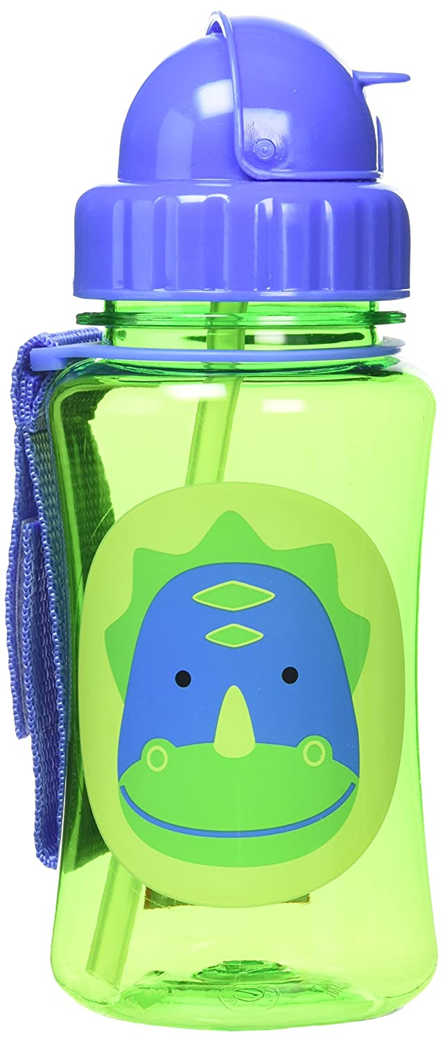Skip Hop Straw Cup, Toddler Transition Sippy Cup, Shark 252322