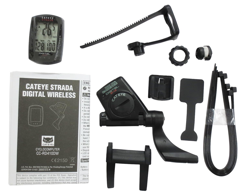 Cateye CC-RD410DW Strada Digital Inc Sensor de Velocidad/cadencia, Color Negro: Amazon.es: Deportes y aire libre