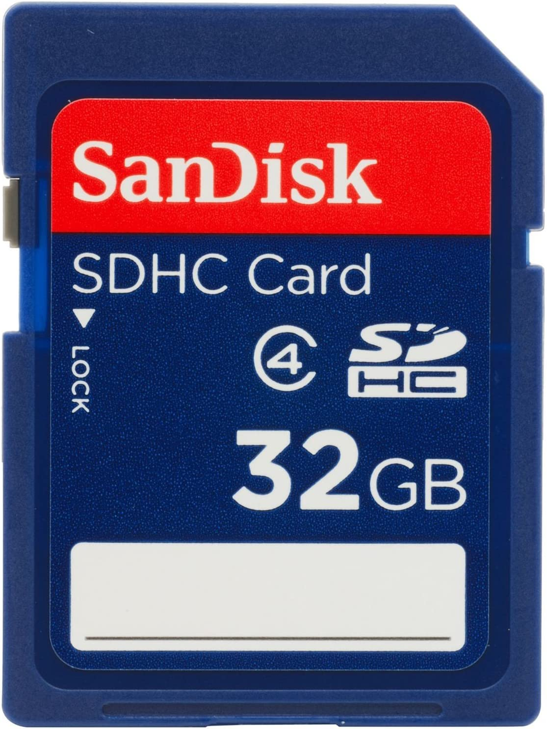 SanDisk 32GB Class 4 SDHC Flash Memory Card - Retail Package