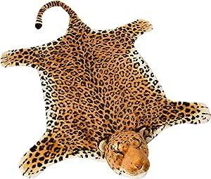 BRUBAKER Huge Leopard Rug 72x42 Inches
