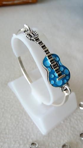 Pulsera Guitarra esmaltada: Amazon.es: Handmade