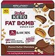 SlimFast Keto Fat Bomb Snacks, Caramel Cup